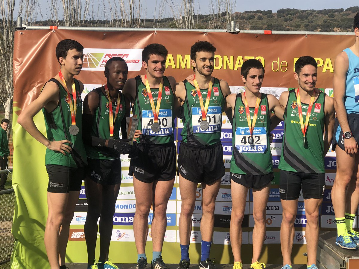 alejandro ortuño subcampeón de España de cross
