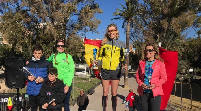 Murcia-Podium carrera contra el maltrato