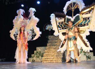 coronación del nuevo rey de Fiestas de carnaval de Yecla