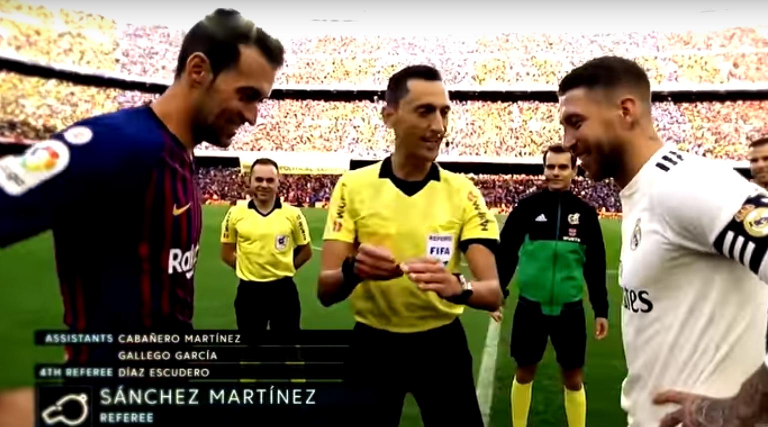 Díaz Escudero repite como cuarto árbitro del Clásico