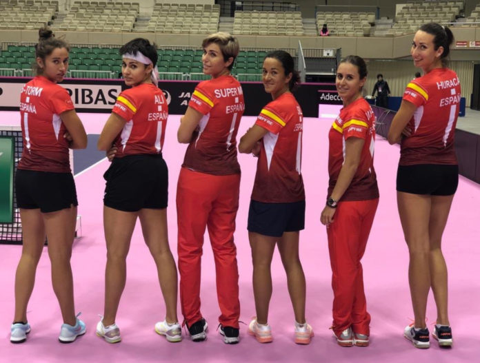 maria jose martinez georgina garcía copa federación super mami selección española japón