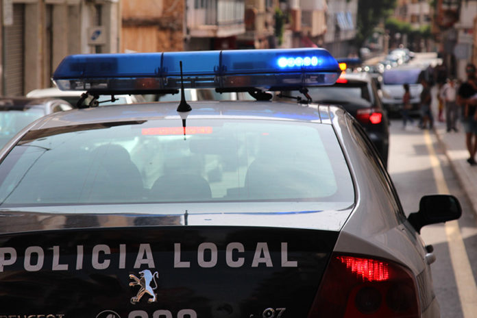 policía local robos