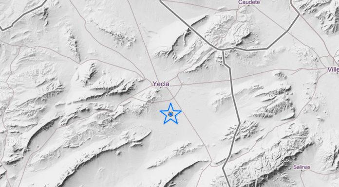 terremoto en Yecla