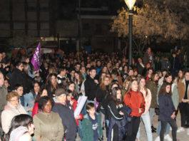 manifestación día 8 de marzo
