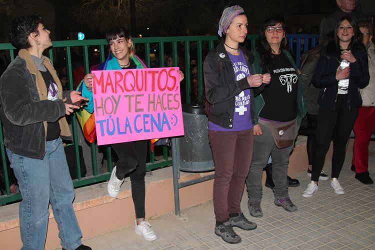 día 8 de marzo, manifestación mujeres