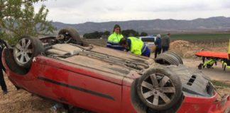 accidente en la carretera del ardal