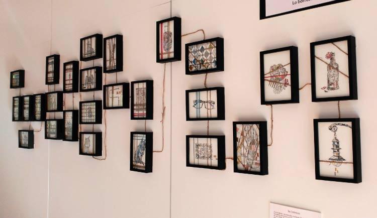 exposición de la artista noelia gracía