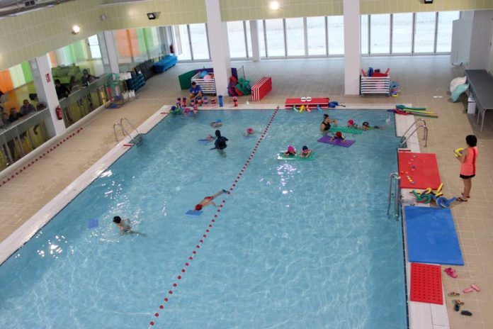 piscina cubierta fianza