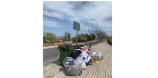queja vecinal sobre vertido de residuos desastre