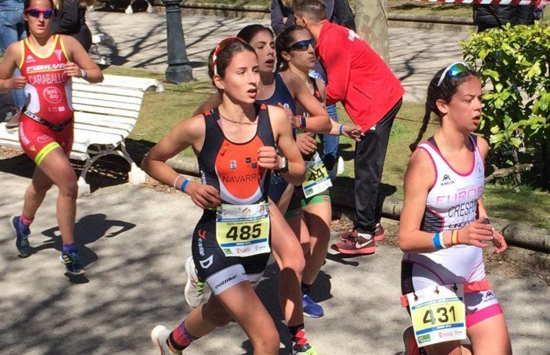 Isabel Navarro Campeonato de España Duatlón Soria