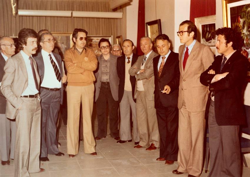corporación del ayuntamiemto de Yecla de 1979