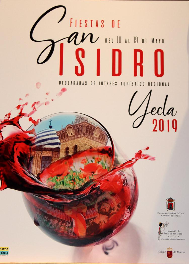 cartel anunciador de las Fiestas de San Isidro 2019