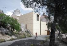 columbario virgen del castillo de Yecla