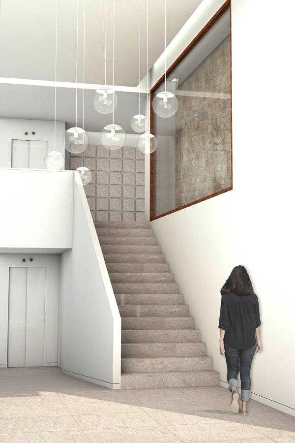 columbario interior 3D