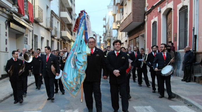 amigos música yecla procesión cristo del sepulcro de Yecla 2019