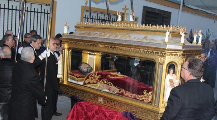 el patrono de Yecla, cristo del sepulcro
