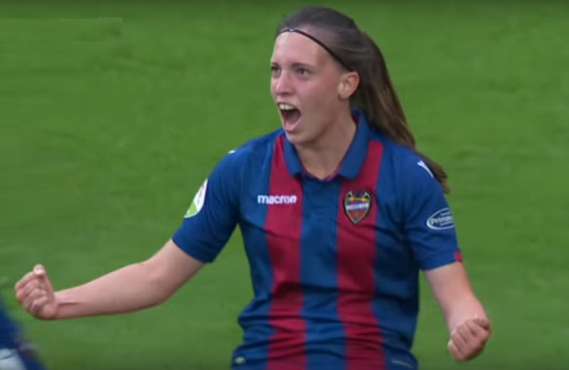 Eva Navarro Levante Valencia Mestalla