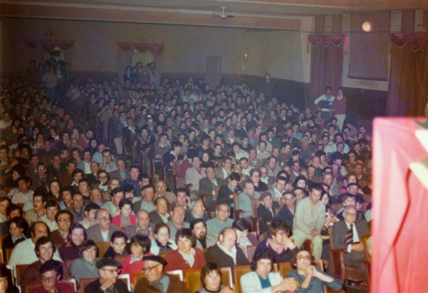 teatro lleno 1979