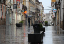 lluvias calles de yecla zonas verdes festivo