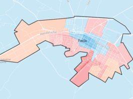 mapa voto yecla