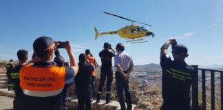 helicóptero infomur vigilancia