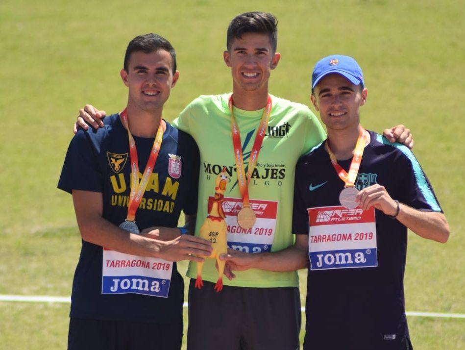 Iván López bronce 10 km marcha