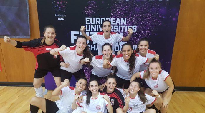 ángela górriz campeona de Europa Universidad Murcia