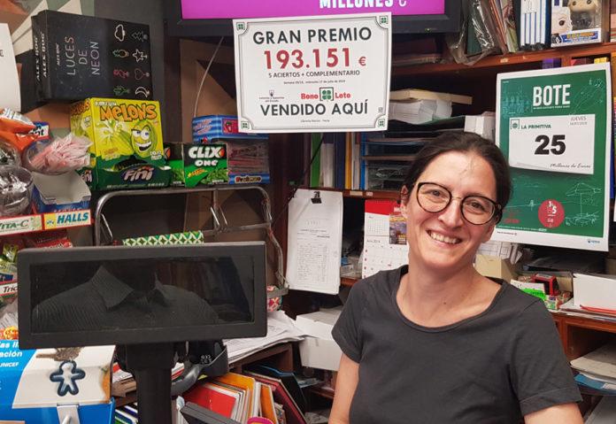 Bonoloto premio yecla