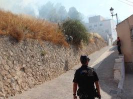 incendio cerro del castillo contado de incendio