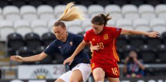 Eva Navarro España semifinal sub19 contra Francia