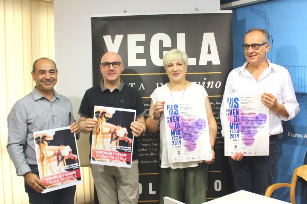 Fiestas de la vendimia yecla 2019