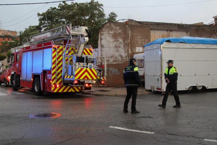 bomberos DANA saneamiento