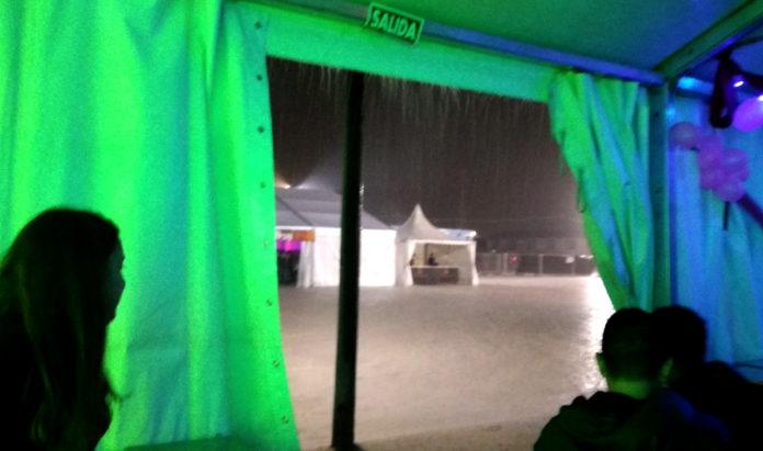 lluvia temporal feria de yecla