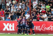 celebración gol