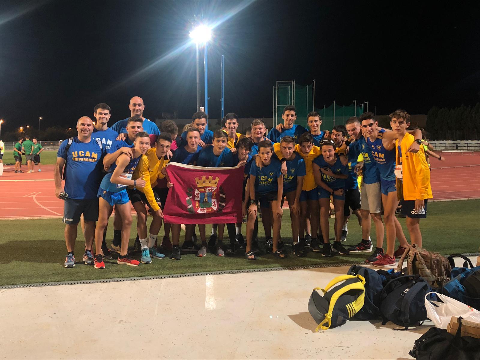 equipo masculino UCAM campeonato españa