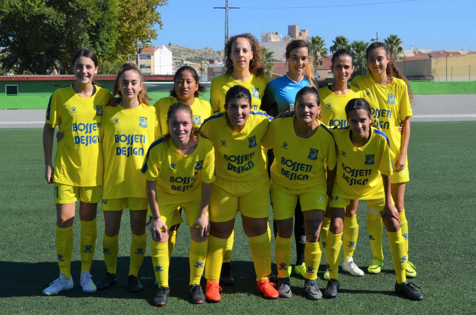 yecla cf fútbol senior femenino