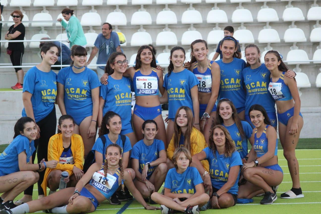 equipo femenino UCAM campeonato españa
