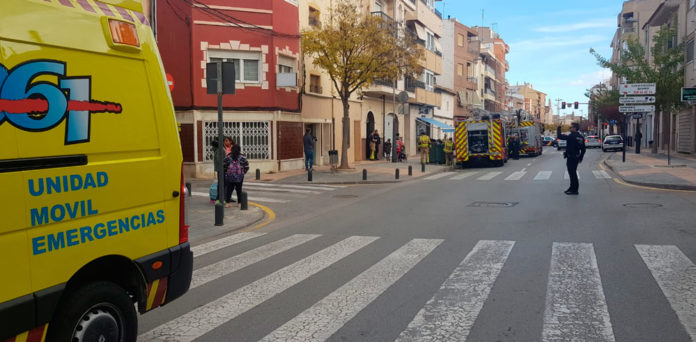 incendio vivineda cocina camino real tres heridos