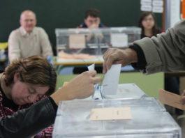 votaciones elecciones generales 2019
