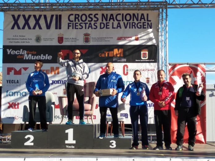 cross fiestas virgen triatletas