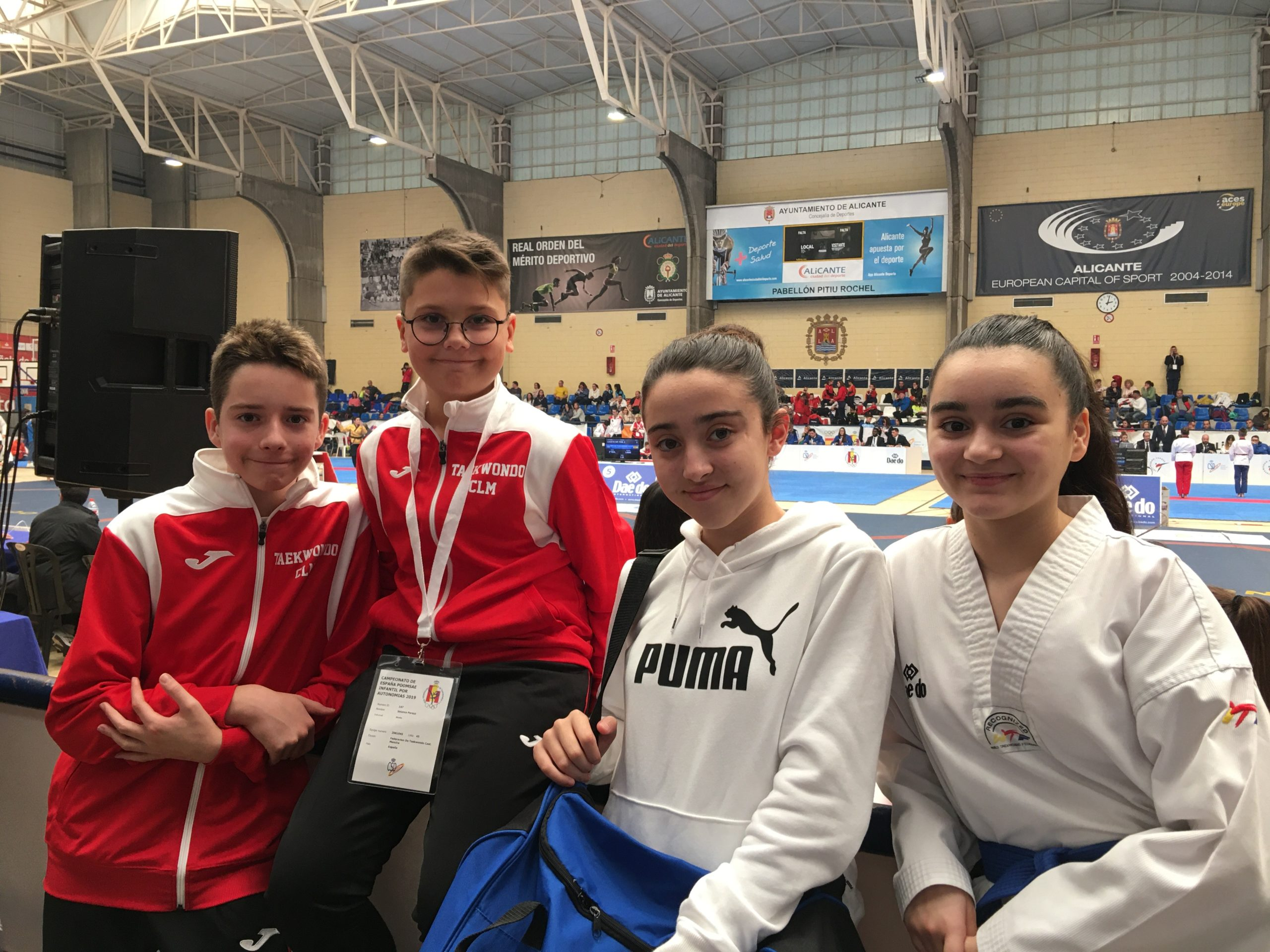 club taekwondo campeonato de españa