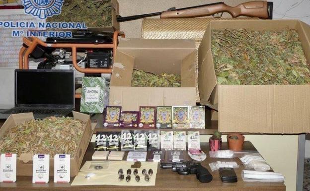 marihuana altar