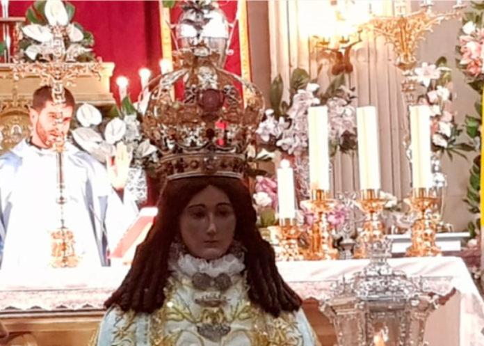 corona de la virgen