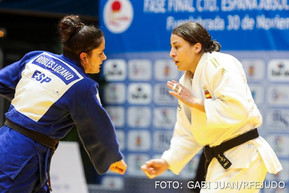 María Isabel Puche, campeona de España judo 2019