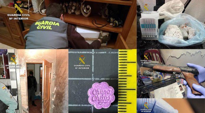opercaión guardia civil altiplano Yecla y Jumilla