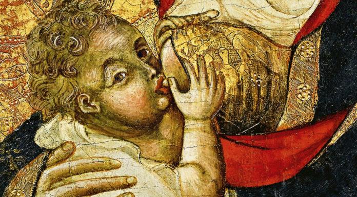 virgen de la encarnación, o virgen de la leche