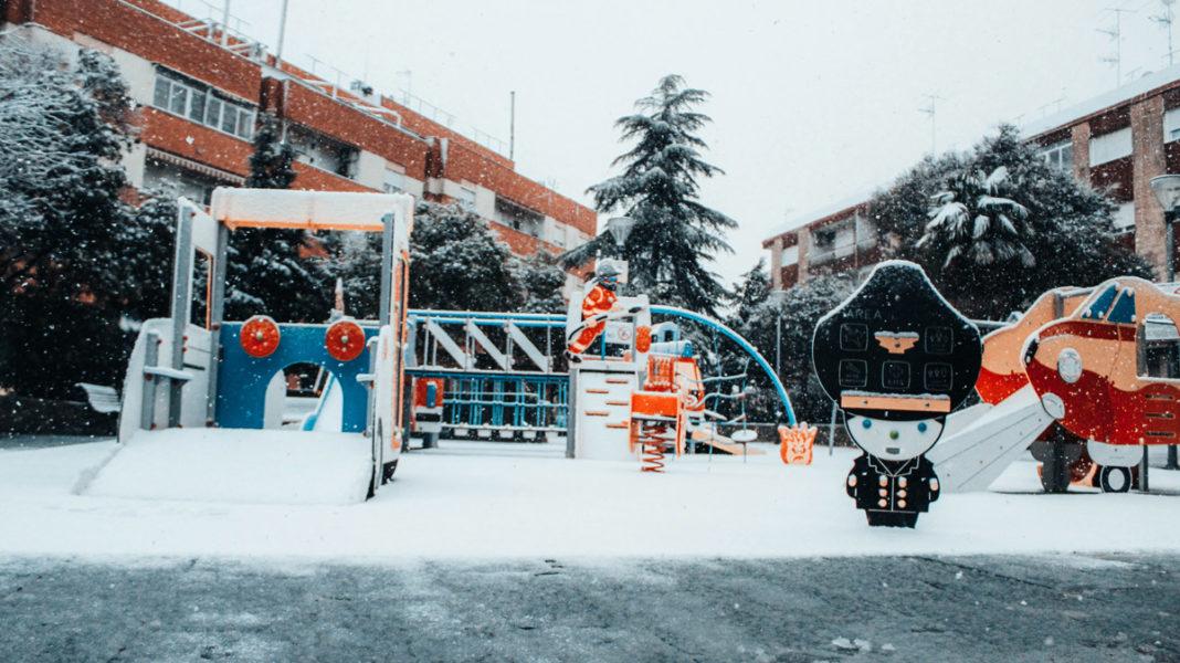 lector foto nieve