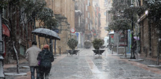 nieva por laclle san francisco