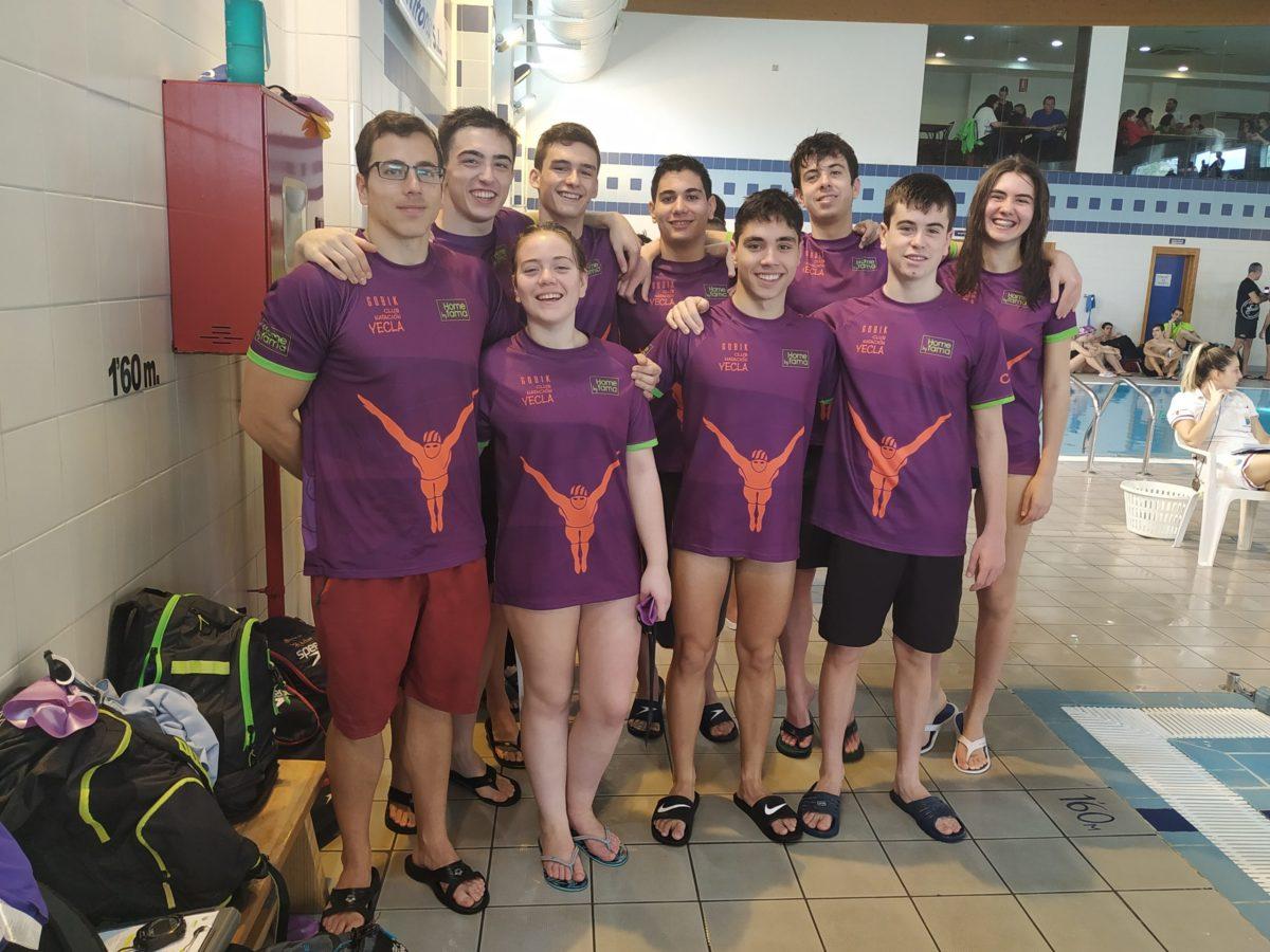 nadadores yecla club natación