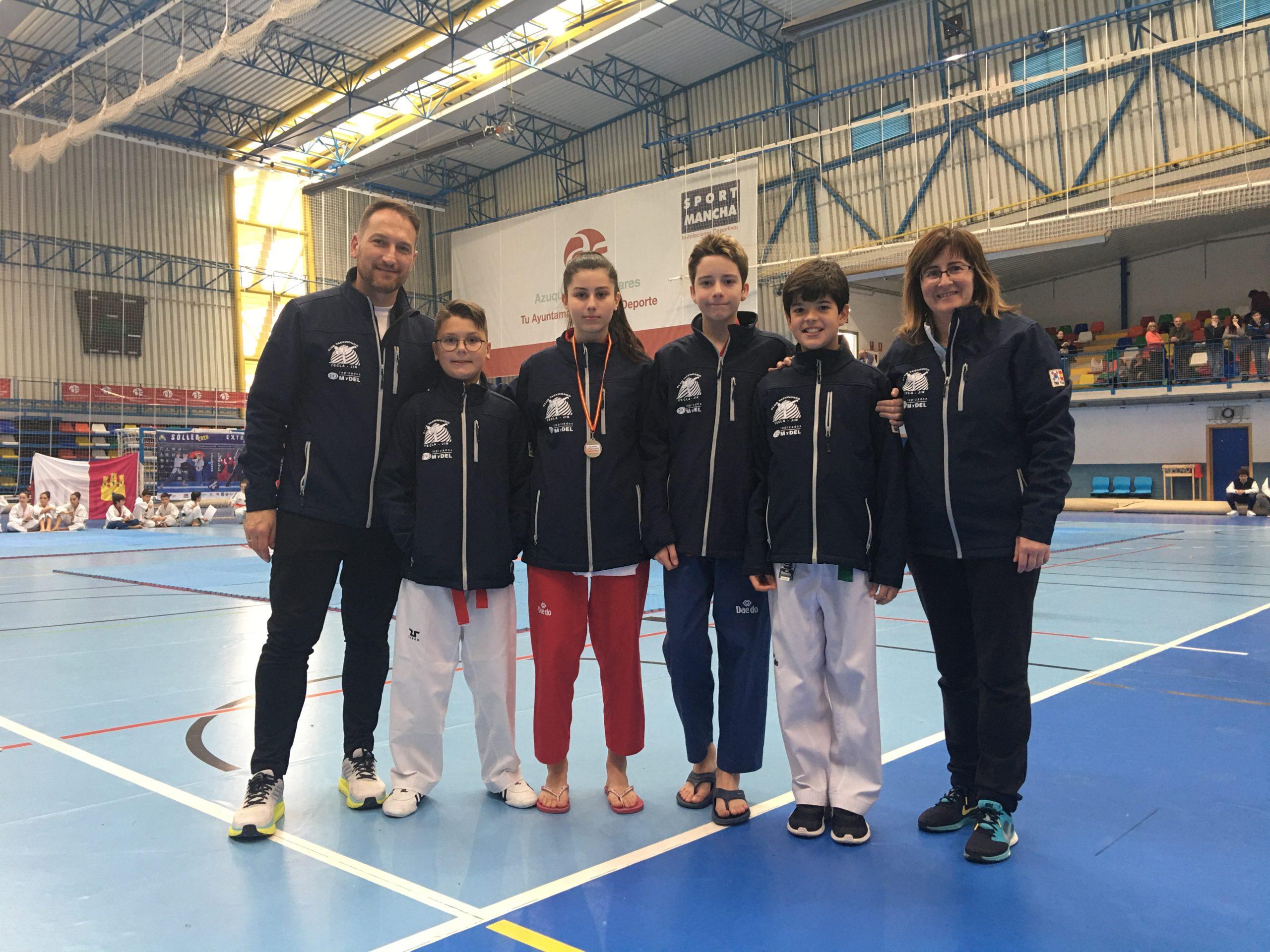 taekwondo campeonato regional